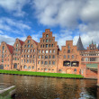 Salzspeicher. Lubeck — Stock Photo