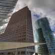 Skyscrapers on Potsdamer Platz, Berlin — Stock Photo