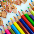 Stock Photo: multicolored pencils