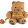 Teddy Bear on a diet — Stock Photo #37650947