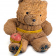Teddy Bear on a diet — Stock Photo #37651081