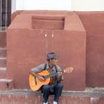 Guitarist in Trinidad, Cuba — Foto Stock