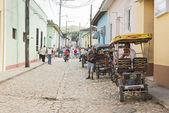 Trinidad pedicab  — Stok fotoğraf
