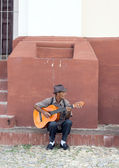 Guitarist in Trinidad, Cuba  — Stock Photo