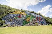 Mural of Prehistory — Stock Photo