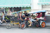 Cienfuegos, pedicab — Zdjęcie stockowe