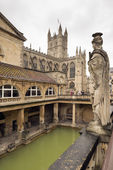 Roman Bath in England — Stock Photo