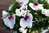 Noiva bouquet de flores — Foto Stock