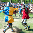 Jousting, the festival of historical reconstruction — Stock Photo