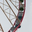 A colourful ferris wheel. Front view — Lizenzfreies Foto