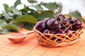 Ripe red cherry — Stock Photo