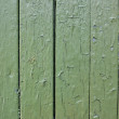 Old green wooden — Stock Photo