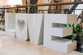 愛のメッセージ — ストック写真