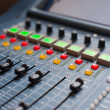 Large Music Mixer desk — Stock Photo #44417973
