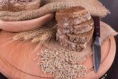 Bread rye spikelets — Stock Photo