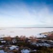 Stock Photo: Scenic view on swedish coast