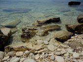 Stones seashore — Stock Photo