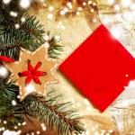 Christmas decoration over grunge background — Stock Photo #24544991