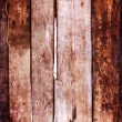 Stock Photo: Contrast dark old wood texture
