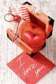 Heart as a symbol of love — Stock Photo