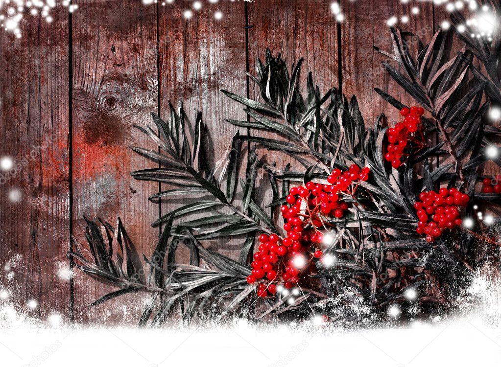 Natural Christmas Garland
