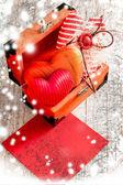 Cœur comme un symbole de l'amour — Photo
