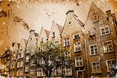 Gamla bilder av europeiska städer — Stockfoto