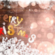 vintage christmas background — Stock Photo #24983279