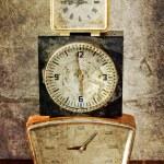Vintage clocks — Stock Photo #24985273