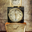 Vintage clocks — Stock Photo