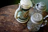 Antique tea service — Stock Photo