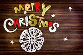 Vintage christmas background — Stock Photo