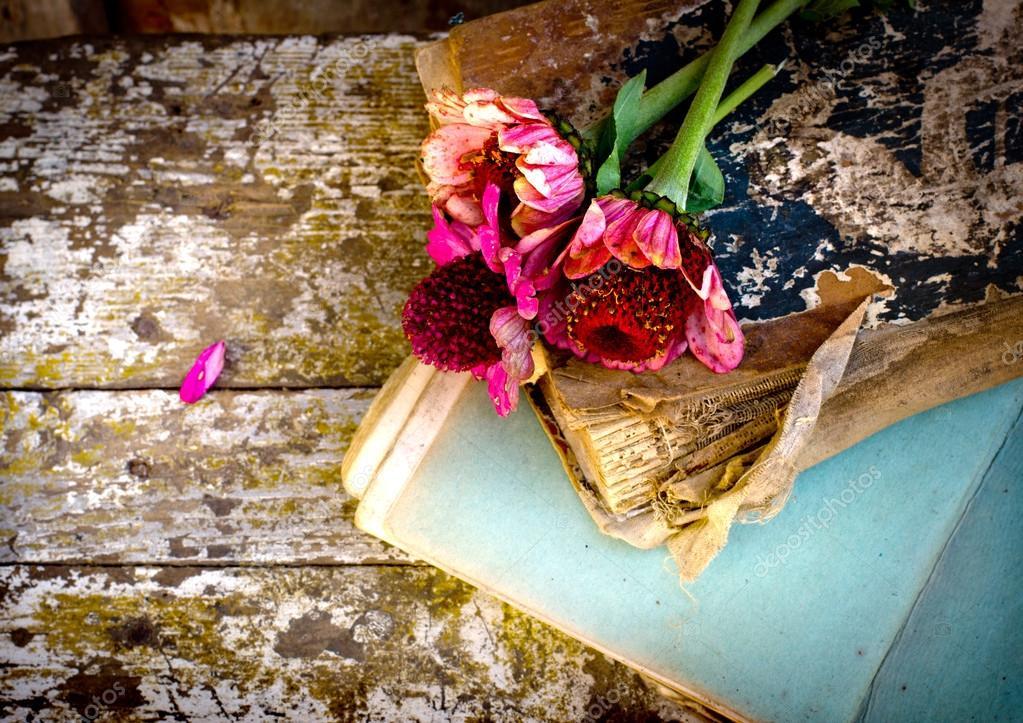 Фото книга из цветов 188
