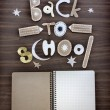 Back to school background — Stock Photo #35724051
