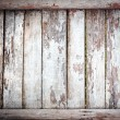 Shabby wooden background — Stock Photo