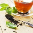 Tea with mint — Stock Photo