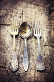 Vintage cutlery — Stock Photo