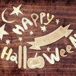 Halloween card — Stockfoto