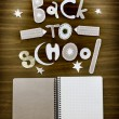 Back to school background — Stock Photo #35730841