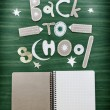 Back to school background — Stock Photo #35730843