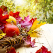 Stock Photo: Thanksgiving day decoration