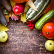 Seasonal fruits and vegetables — ストック写真