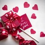 Valentine's background — Stock Photo