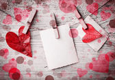 Valentine's background — Stock Photo