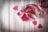 Valentine's gift box — Stock Photo