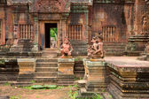 Banteay Srei Wat — Stock Photo