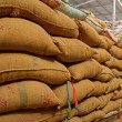 Warehouse and Sacks stacked — Stock Photo #12766054