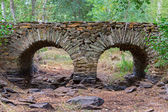 Slate bridge — Stock Photo