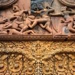 Banteay Srei Wat embossing — Stock Photo #13246128