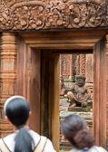 Banteay Srei Wat — Stockfoto